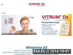 Miniaturka domeny www.vitrumd3.pl
