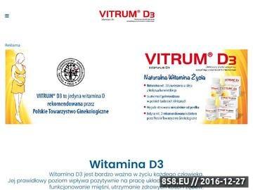 Zrzut strony Leki zawierające witaminę D