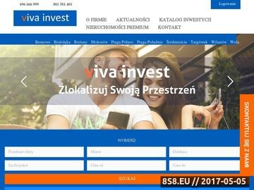 Zrzut strony Mieszkania na sprzedaż Warszawa