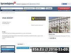 Miniaturka domeny vivainvest.sprzedajemy.pl