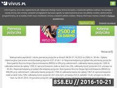 Miniaturka domeny www.vivus.pl