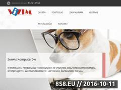 Miniaturka domeny www.vizim.pl