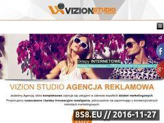 Miniaturka Projektowanie stron i pozycjonowanie stron - Vizion Studio (vizionstudio.pl)