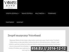 Miniaturka domeny www.voice-band.pl