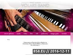 Miniaturka domeny www.volareband.pl