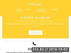 Miniaturka domeny voltmaxlublin.pl