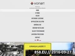 Miniaturka domeny www.vonart.com.pl