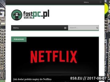 Zrzut strony Komputery PC - vortal.fastpc.pl