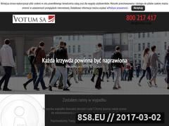 Miniaturka domeny www.votum-co.pl