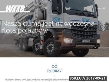 Zrzut strony Beton Poznań