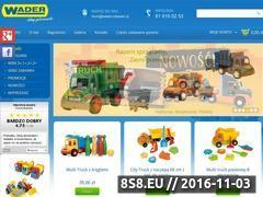 Miniaturka domeny www.wader-zabawki.pl