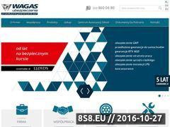 Miniaturka domeny www.wagas.pl