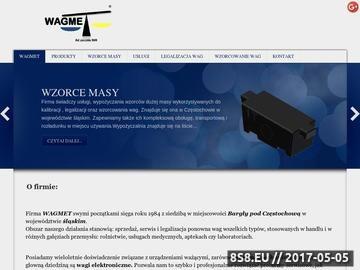 Zrzut strony Wagi elektroniczne, przemysłowe, wzorce masy
