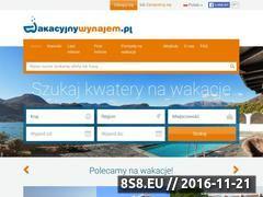 Miniaturka domeny www.wakacyjnywynajem.pl