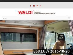 Miniaturka domeny www.waldi-camp.net.pl