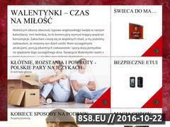 Miniaturka domeny walentynki.conaprezent.pl