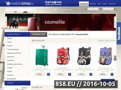Miniaturka domeny www.walizkisklep.pl