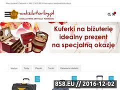 Miniaturka domeny www.walizkitorby.pl
