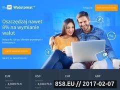 Miniaturka domeny www.walutomat.pl