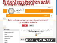 Miniaturka domeny wapershop.pl