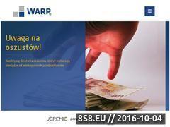 Miniaturka domeny www.warp.org.pl