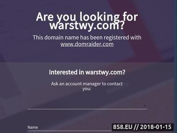 Zrzut strony Serwis o pracy w branży reklamowej, grafice komputerowej - Warstwy.com