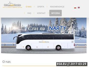 Zrzut strony Przewozy autokarowe Warszawa