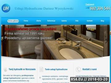 Zrzut strony Wyrzykowski - hydraulik w Warszawie
