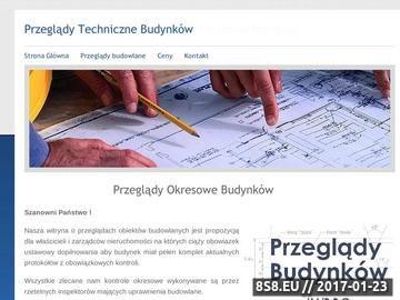 Zrzut strony Przeglądy Budowlane Warszawa