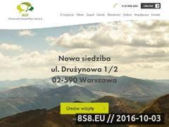 Miniaturka domeny www.warszawskiinstytut.eu