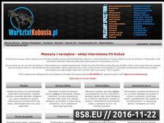 Miniaturka domeny www.warsztatkubusia.pl