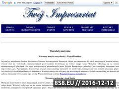 Miniaturka domeny warsztaty.twoj-impresariat.pl