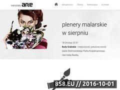 Miniaturka domeny warsztatyarte.pl
