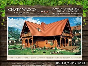 Zrzut strony Wasco.pl - zobacz domy z bali
