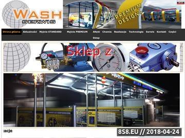 Zrzut strony Sprzedaż myjni bezdotykowych