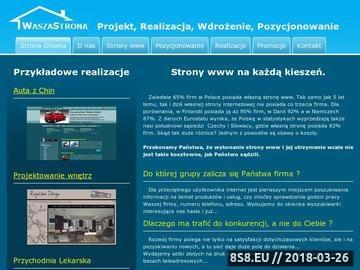 Zrzut strony Waszastrona.pl - katalog dobrych stron