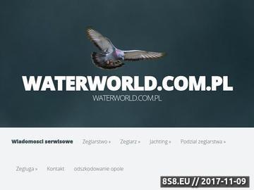 Zrzut strony Waterworld.com.pl