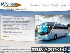 Miniaturka domeny www.watra.com.pl