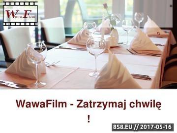 Zrzut strony Filmowanie Warszawa