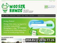 Miniaturka domeny wcosiebawic.pl