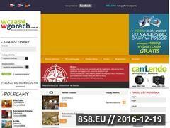 Miniaturka domeny www.wczasywgorach.com.pl