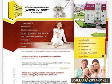 Zrzut strony Wspólny DOM - lokale mieszkalne