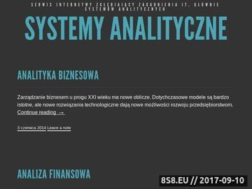 Zrzut strony Systemy Informatyczne