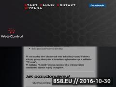 Miniaturka domeny web-control.pl