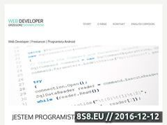 Miniaturka domeny www.web-developer.pl