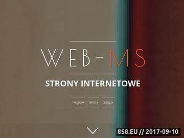 Zrzut strony Firma Web-ms