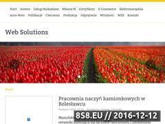Miniaturka domeny www.web-solutions.pl