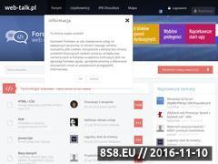 Miniaturka domeny www.web-talk.pl