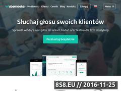 Miniaturka domeny webankieta.pl
