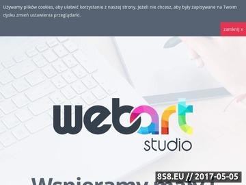Zrzut strony Projektowanie stron www, nowoczesny marketing internetowy